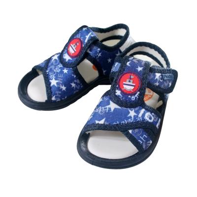 魔法Baby 星星印帆船男童涼鞋 sh3799