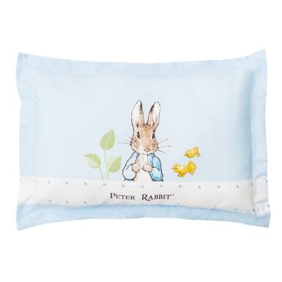 奇哥 花園比得兔充綿兒童枕-藍色