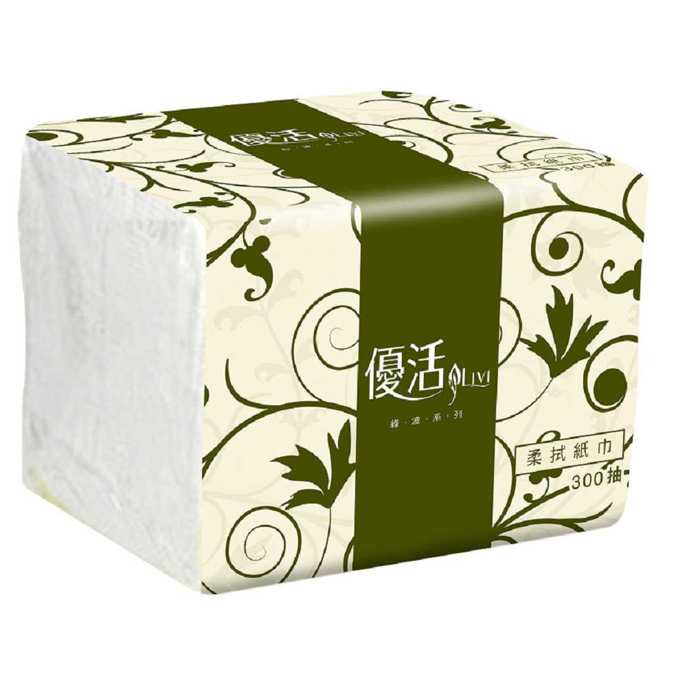 Livi 優活 柔拭紙巾300抽72包x2箱