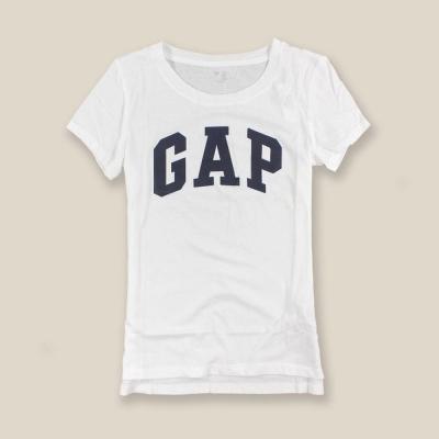 GAP 女生 短袖 T恤 白 0352