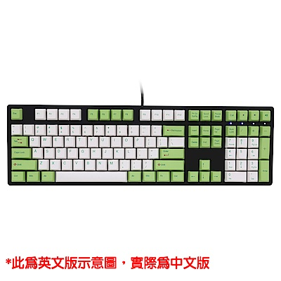 Ducky 創傑 One 茶軸 無背光 PBT熱昇華 奶綠帽 機械式鍵盤《中文版》