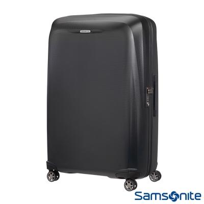 Samsonite新秀麗-28吋Starfire飛機輪TSA防刮耐磨PC行李箱-石墨黑