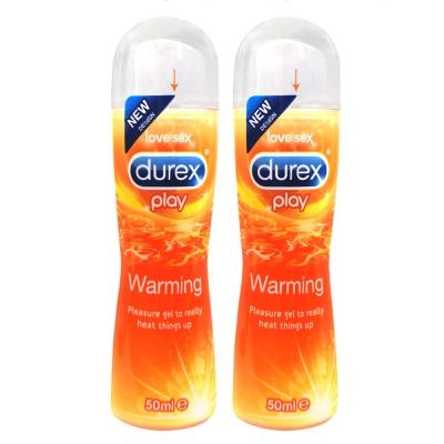 Durex杜蕾斯-熱感情趣潤滑液50ml-2入