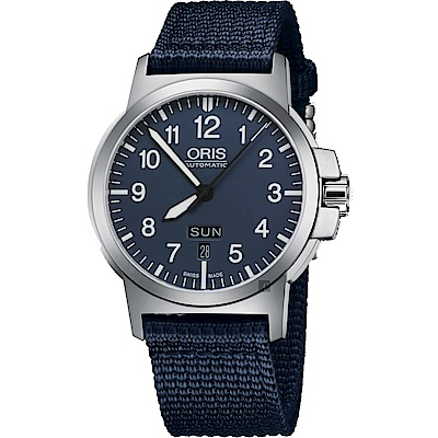 ORIS豪利時 BC3 Advanced 日曆星期機械手錶-藍/42mm