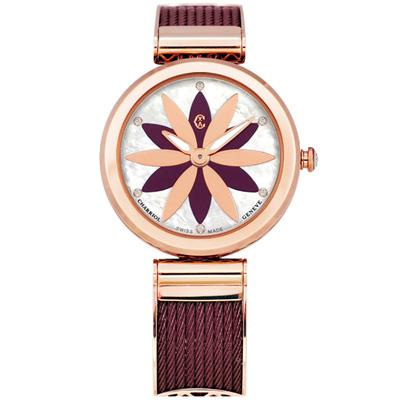 ORIENT東方錶  風格簡約藍寶石石英女錶-銀x32mm FUNG7001W0