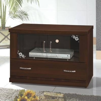 Bernice-羅密歐3尺胡桃色電視櫃-81x48x54cm