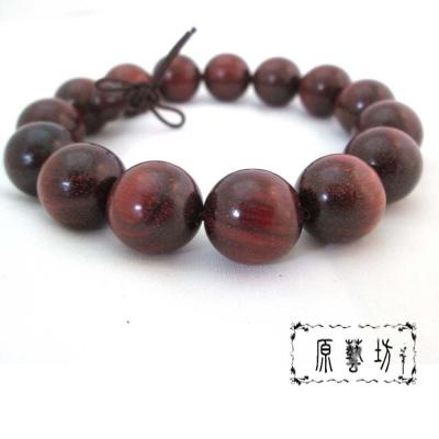 原藝坊  超優質 天然小葉紫檀木 佛珠(直徑 15 mm)