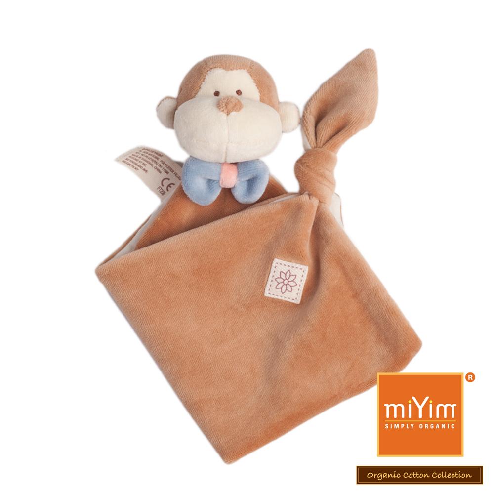 美國miYim有機棉 安撫巾系列-布布小猴