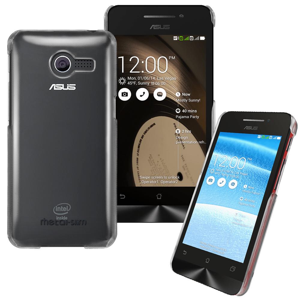 Metal-Slim ASUS ZenFone 4 PC透明系列新型保護殼(4吋專用)