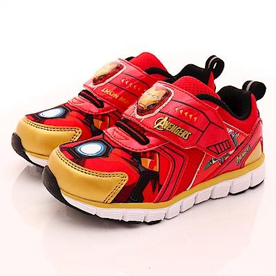 MARVEL 鋼鐵人電燈運動鞋款-EI5122紅(中小童段)