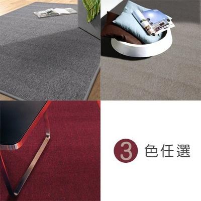 范登伯格 - 浮華 經典素面地毯 (三色可選) (156x210cm)