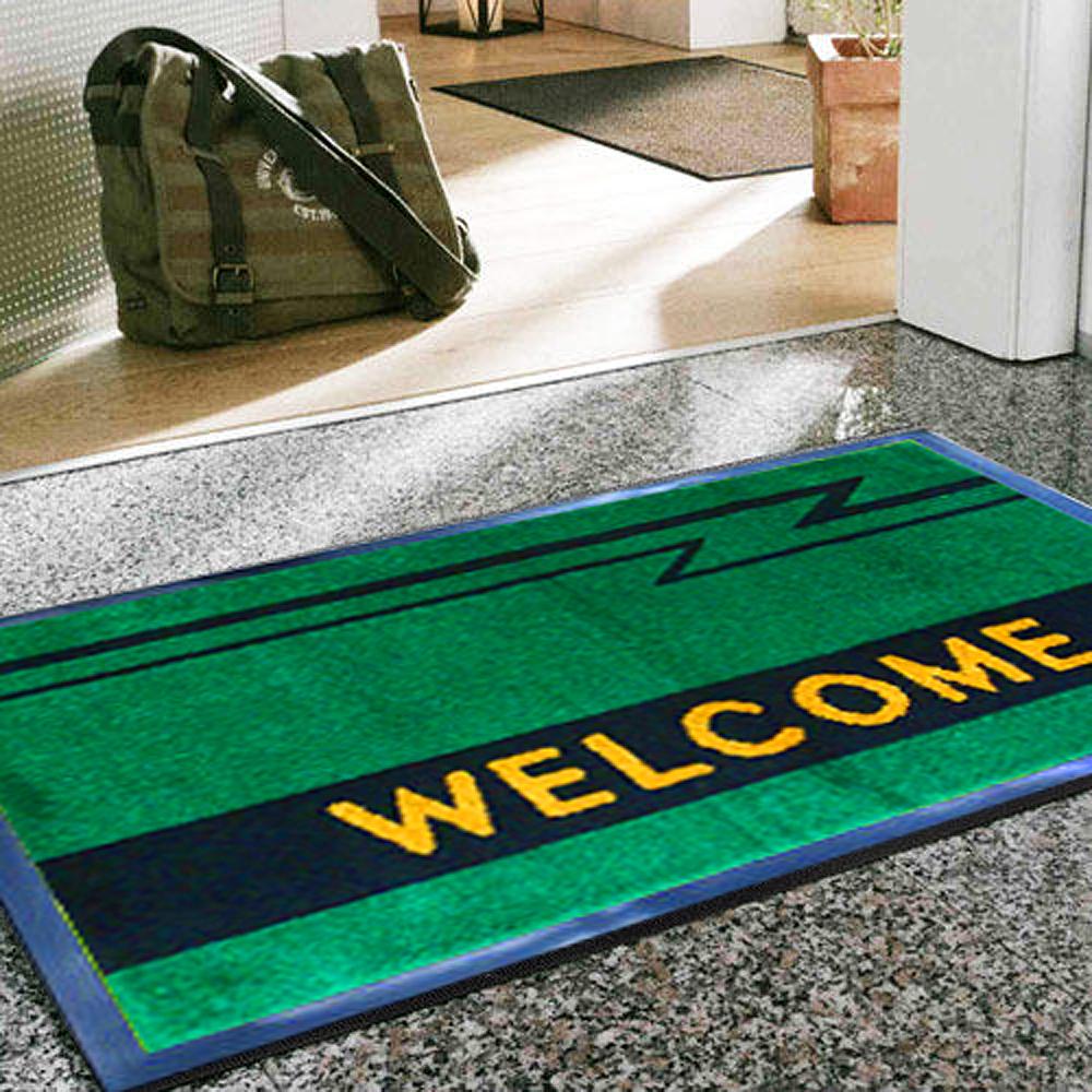 范登伯格歡迎光臨PVC膠底室外踏墊兩色可選89x149cm