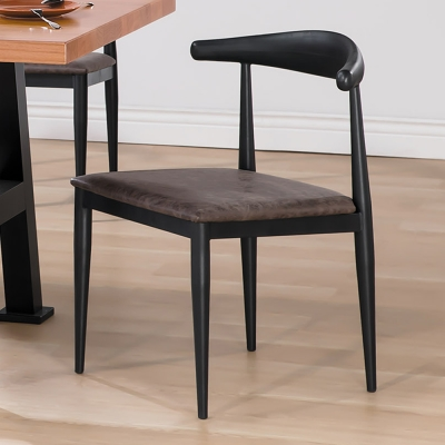 Boden-瓦諾工業風餐椅(四入組合)-50x46x74cm