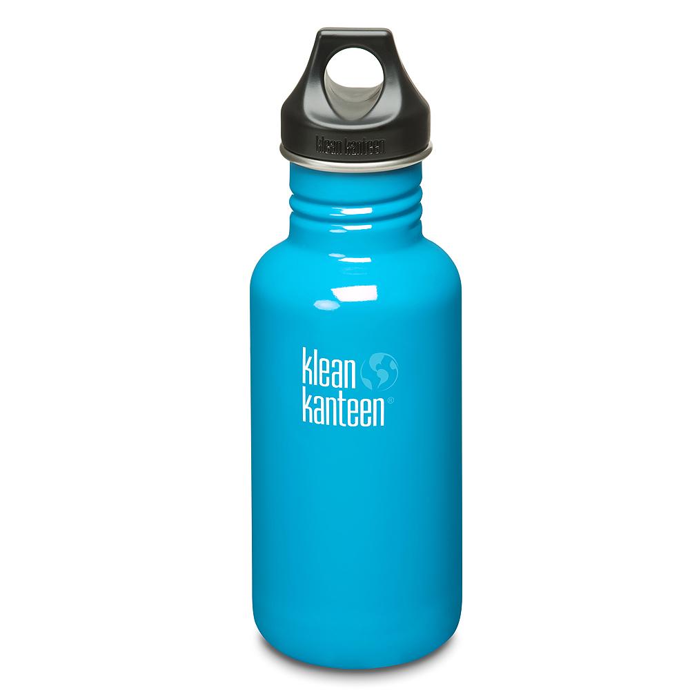 美國Klean Kanteen不鏽鋼瓶532ml-島嶼藍