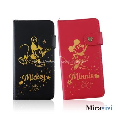 Disney迪士尼iPhone 8/7 Plus(5.5吋)經典復古燙金系列皮套