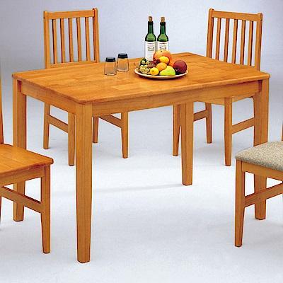 AS-克拉克西餐桌(櫻桃色)-122x76x76cm