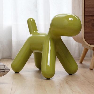 H&D Puppy Chair復刻款狗狗造型椅/裝飾椅/小-綠色