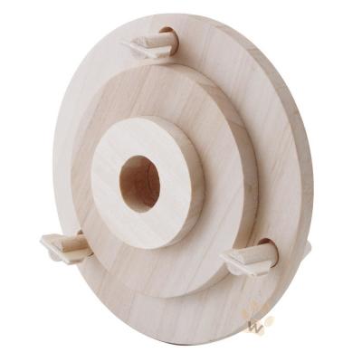 Marukan 鳥 天然木材 射箭玩具 MB~114