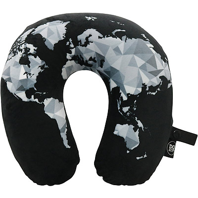 DQ U型護頸記憶枕(幾何地圖)