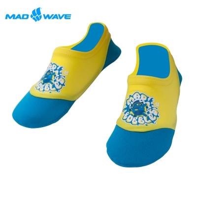 俄羅斯MADWAVE兒童用透氣防滑潛水襪/浮潛襪