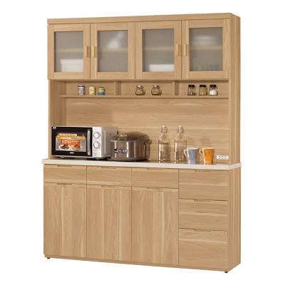 CASA卡莎 維爾范5.2尺石面組合餐櫃/收納櫃