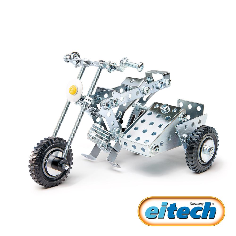 德國eitech益智鋼鐵玩具-三輪重型機車 C85
