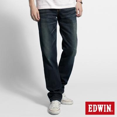 EDWIN 中直筒 503 NARROW牛仔褲-男-酵洗藍