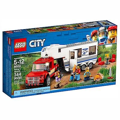 樂高LEGO城市系列 - LT60182 皮卡車及露營車