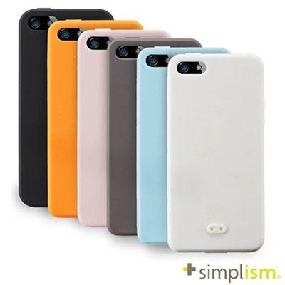 Simplism-IPHONE-5-5S-SE-矽膠手機殼-保護貼