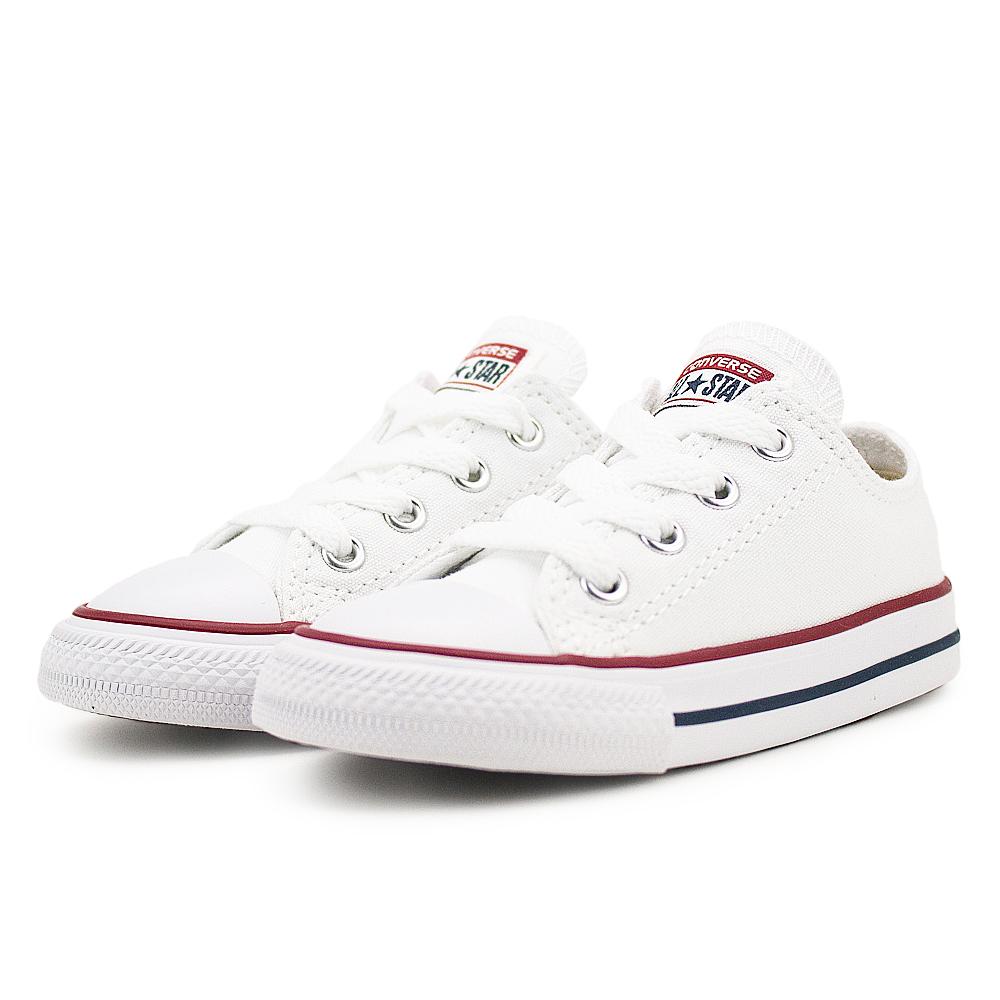 CONVERSE-All Star Infant小童鞋-白