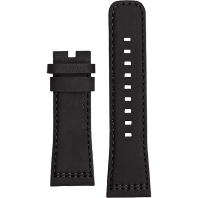 SEVENFRIDAY V1 原廠牛皮錶帶-黑