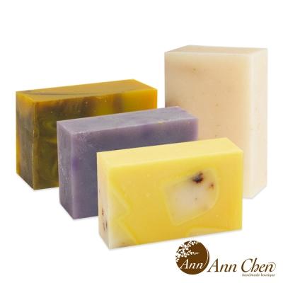 陳怡安手工皂-清新陽光淨柔手工皂四入組