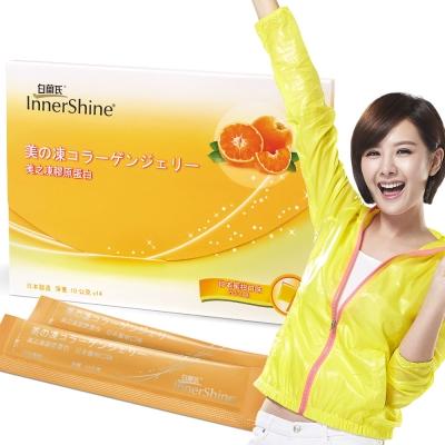 白蘭氏美之凍膠原蛋白-10g-14包-日本蜜柑口味