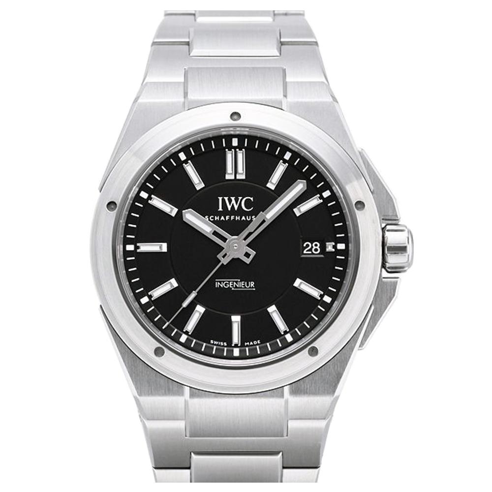 IWC 萬國錶 工程師自動黑面腕錶(IW323902)-40mm