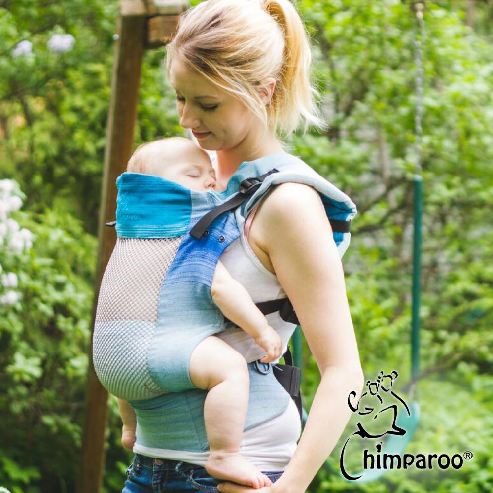 加拿大 Chimparoo Trek Air-O 透氣嬰兒揹帶,海洋