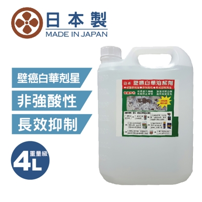 日本壁癌白華溶解劑4L