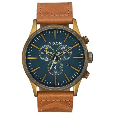 NIXON 藍調搖滾潮流運動腕錶-A4052731-42mm