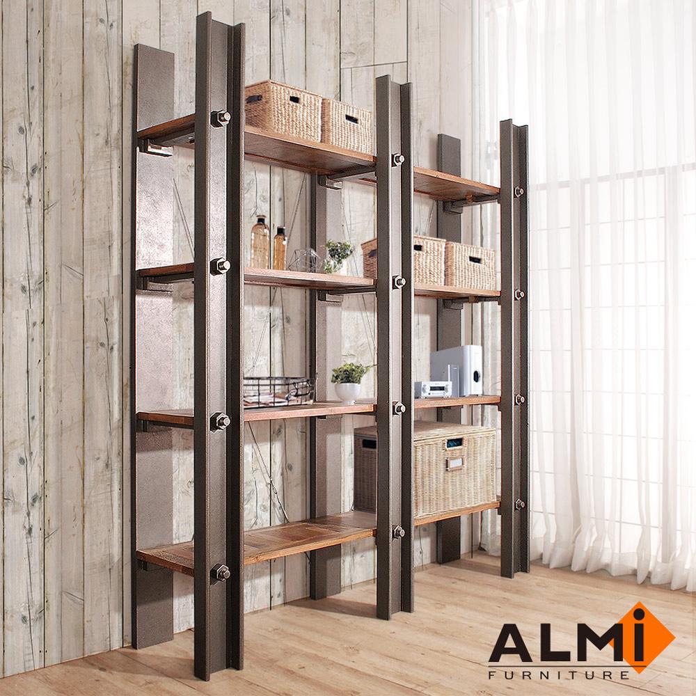 ALMI_DOCKER PROFILE 工業風展示架W180*D40*H200CM
