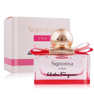 Salvatore Ferragamo Signorina 花漾伊人女性淡香水30ml