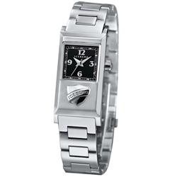 ICEBERG 米蘭時尚系列LOGO時尚腕錶-黑/20x36mm