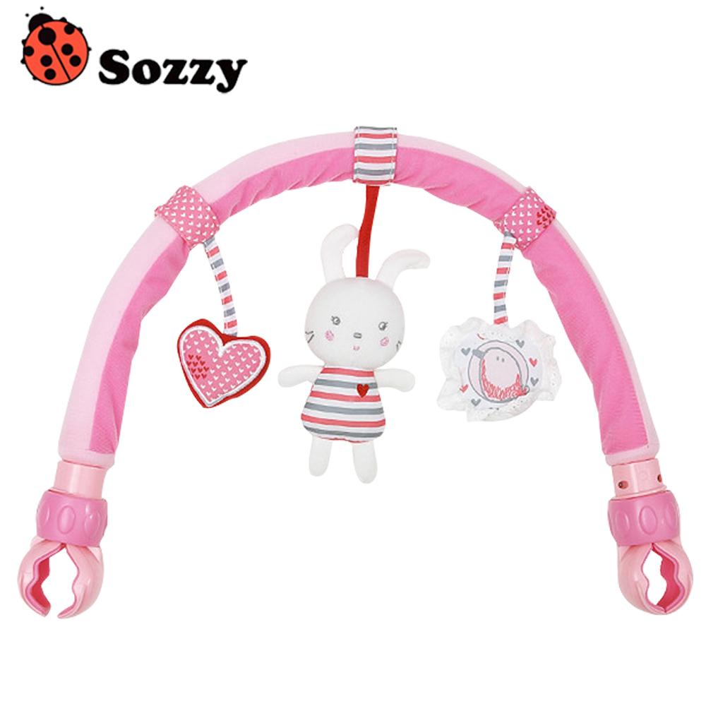 嬰兒床夾車夾掛偶吊飾安撫玩具