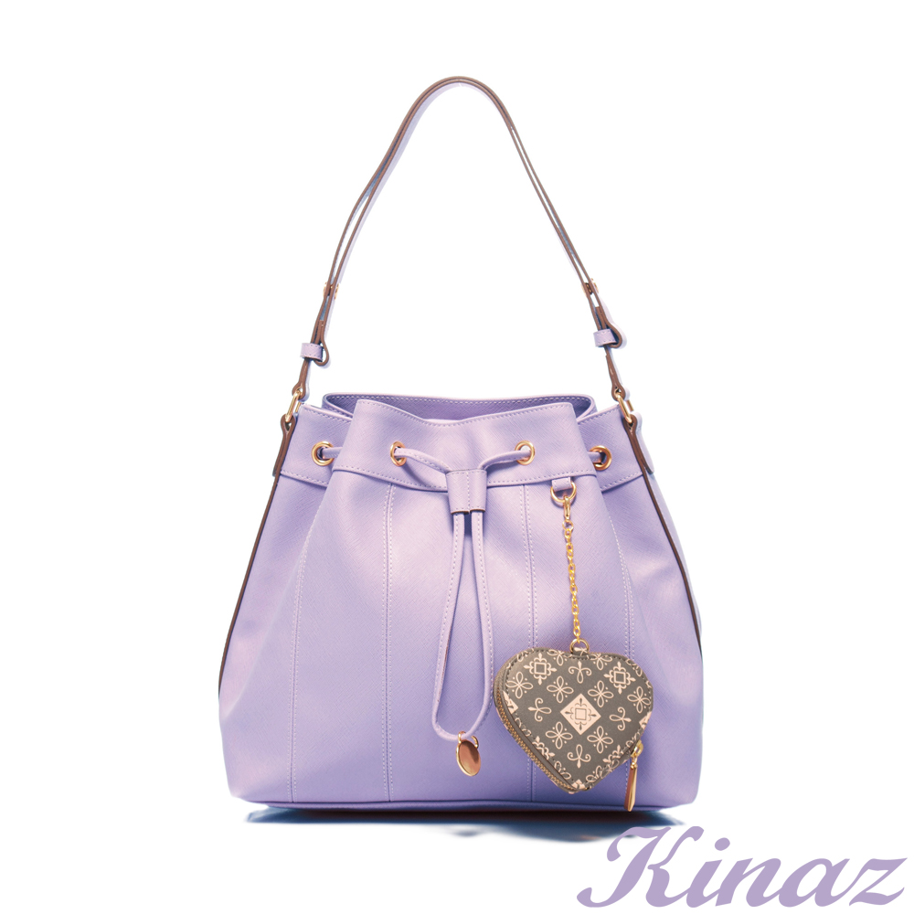 KINAZ 糖果色天空~綺想微暈2way包-薰衣草紫