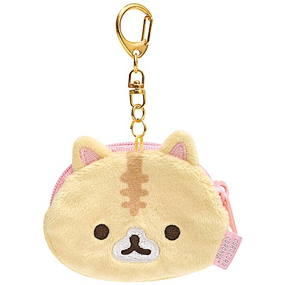 捲心奶油貓幻想冰淇淋零錢包吊飾。奶油貓 San-X