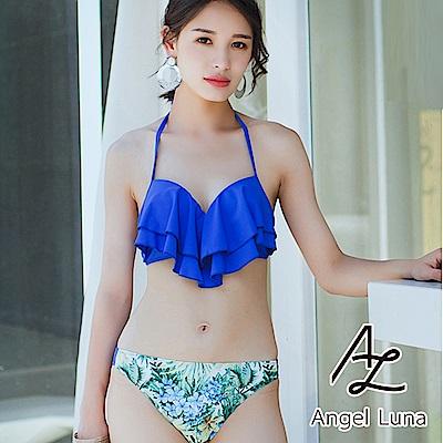 【AngelLuna】雙層荷葉兩件式比基尼泳裝(日本直送3-10天到貨)