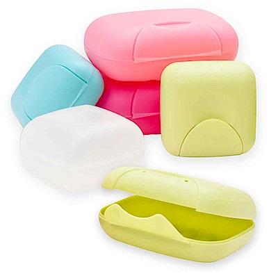 (買大送小)露營 野餐 旅行肥皂盒 手工皂盒 帶鎖扣肥皂盒 收納盒