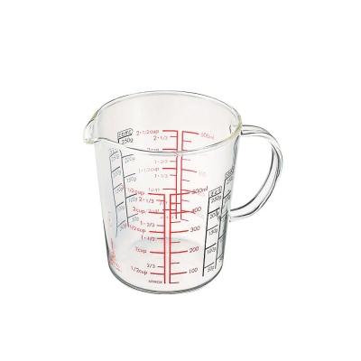 HARIO-玻璃手把量杯500ml / CMJW-500