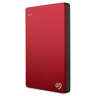 Seagate 2TB 行動硬碟 New Backup Plus-熱情紅