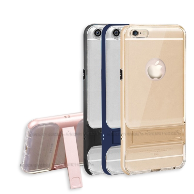 VXTRA iPhone 6s/6 4.7吋 晶透支架手機殼