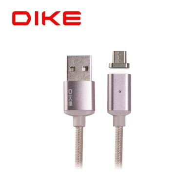 DIKE 磁吸充電線1M 附Type-C接頭/玫瑰金 DLC210RG