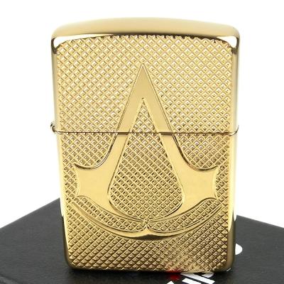 ZIPPO 美系~Assassins Creed-刺客教條Logo圖案深刻打火機